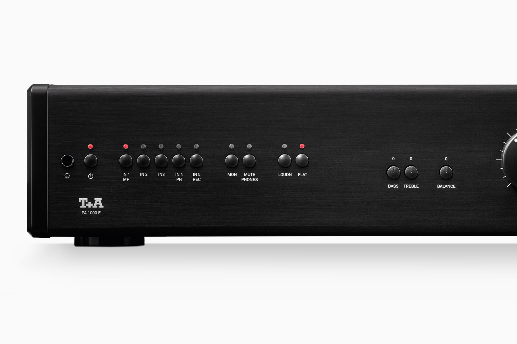 Pa 1000 E Integrated Amplifier Bass And Treble Control Without Any Ic Transistor The Input Selector Switches Incorporate Gold Contact Relays Of Outstanding Quality In Order To Guarantee Freedom From Harmonic Distortion Background